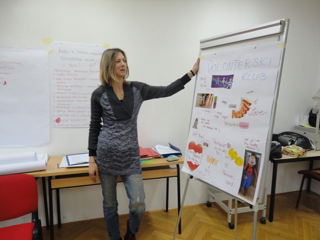 Održan prvi modul: Menadžment volontera za srednje škole i udruge