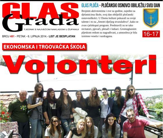 Dubrovnik dobio prvi školski volonterski klub