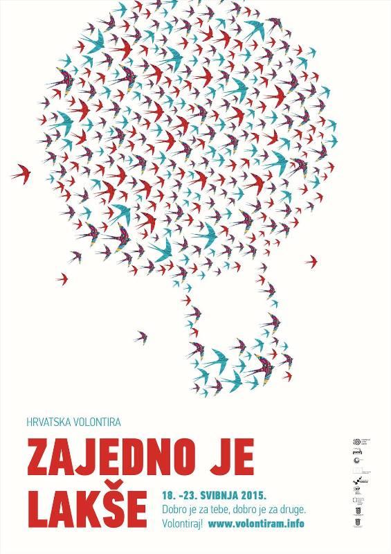 Poziv na sudjelovanje u manifestaciji Hrvatska volontira 2015.
