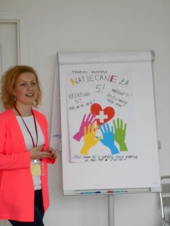 Edukacija o menadžmentu volontera na Korčuli