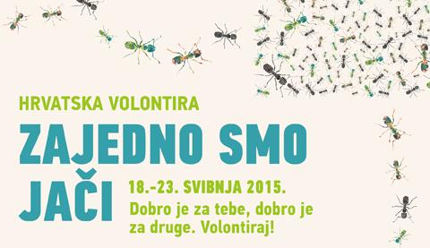 Hrvatska volontira 2015